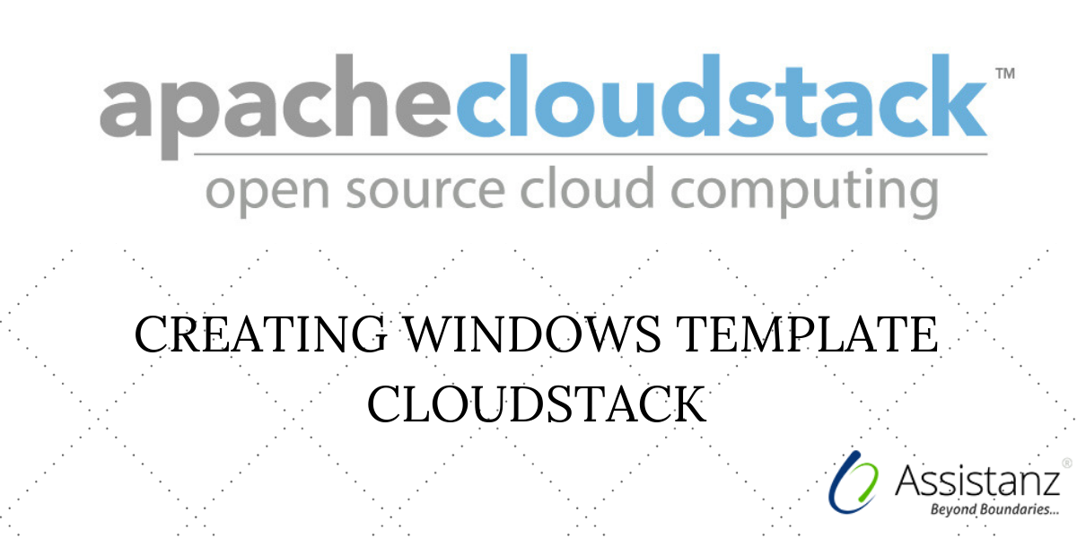 Creating Windows Template CloudStack