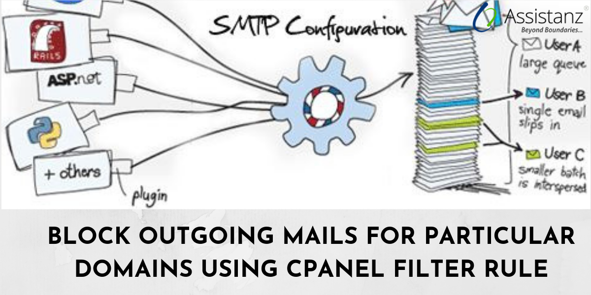 Block Outgoing Mails For Particular Domains Using Cpanel Filter Rule