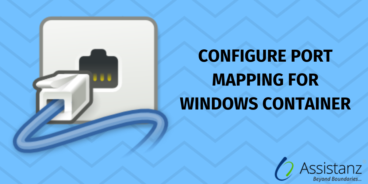 Configure port mapping for windows container