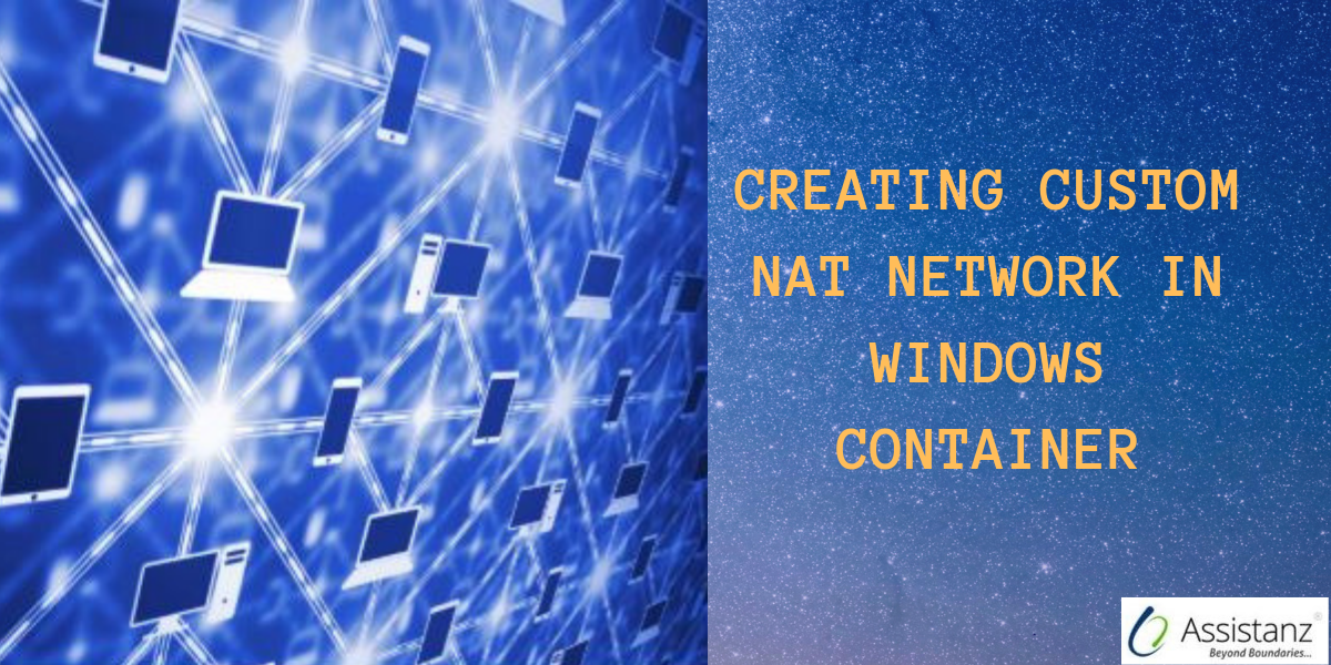 Creating custom NAT network in windows container