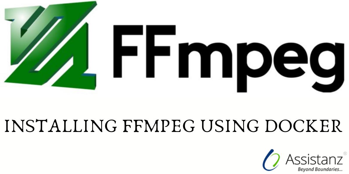 Installing ffmpeg using docker
