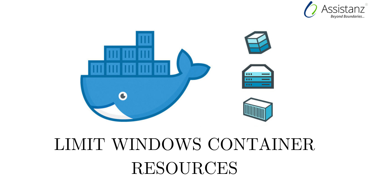 Limit windows container resources