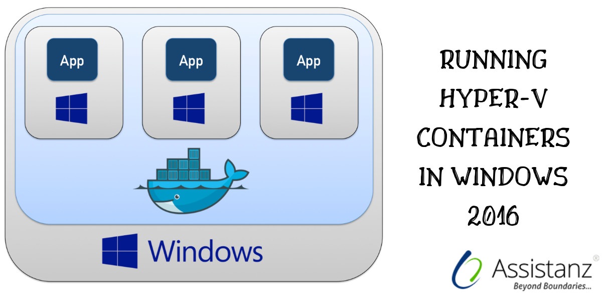 Running HYPER-V Containers in Windows 2016