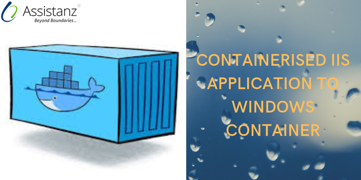 Containerised IIS Application to windows Container