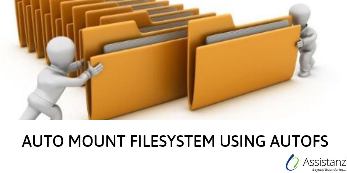 Auto mount filesystem using AutoFS