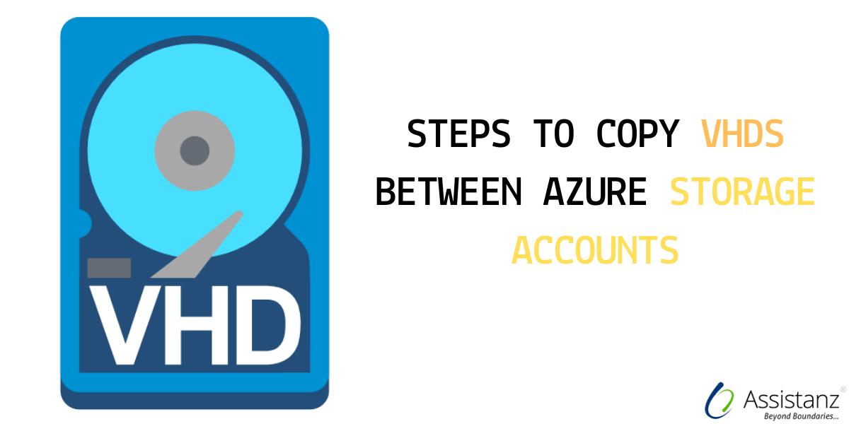 Steps to copy VHDs between azure storage accounts