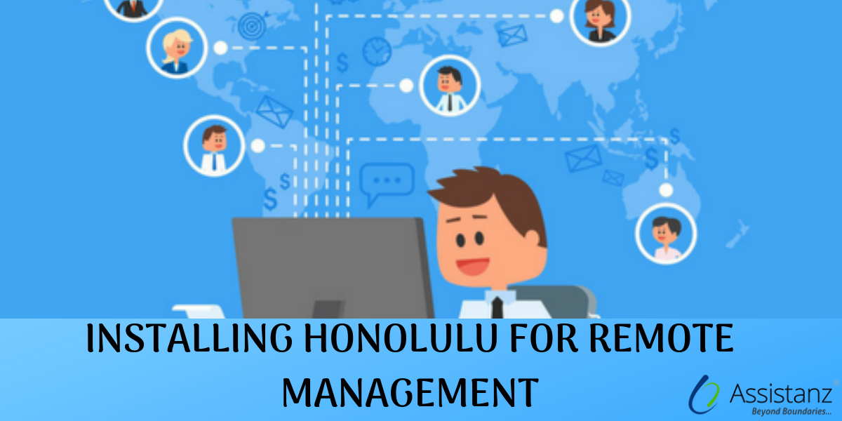 Installing Microsoft project Honolulu on windows 2016 server for Remote Management