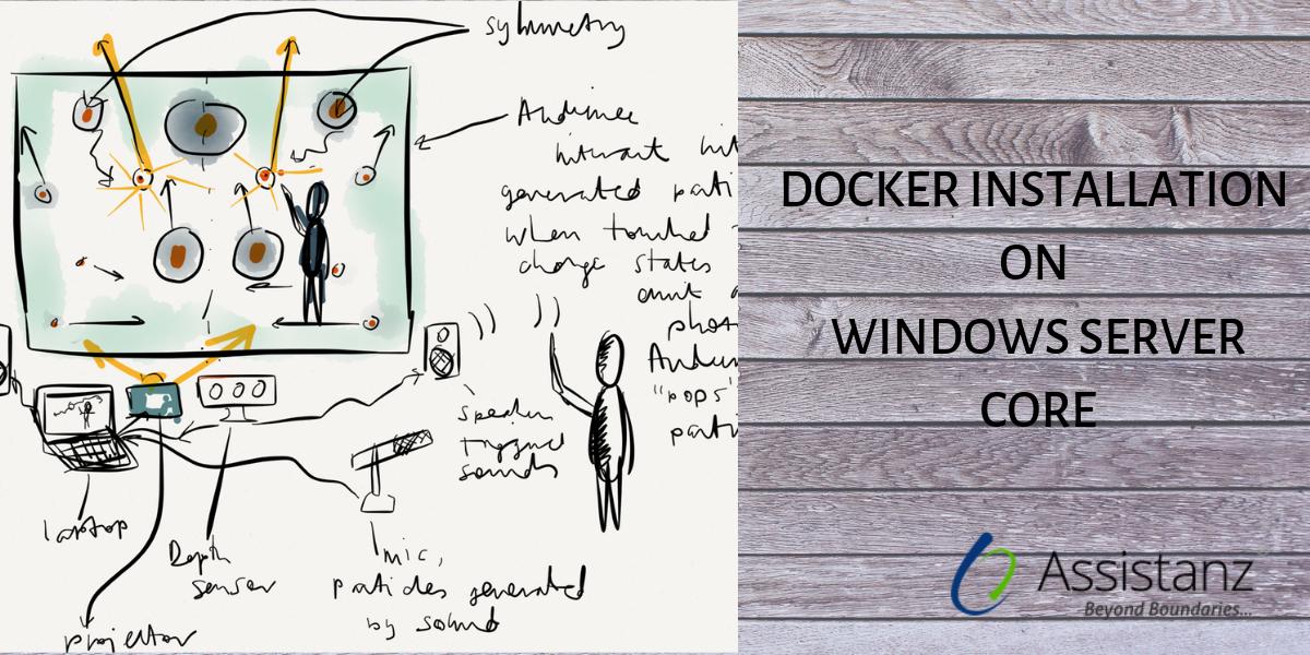 Installing Docker on Windows server Core