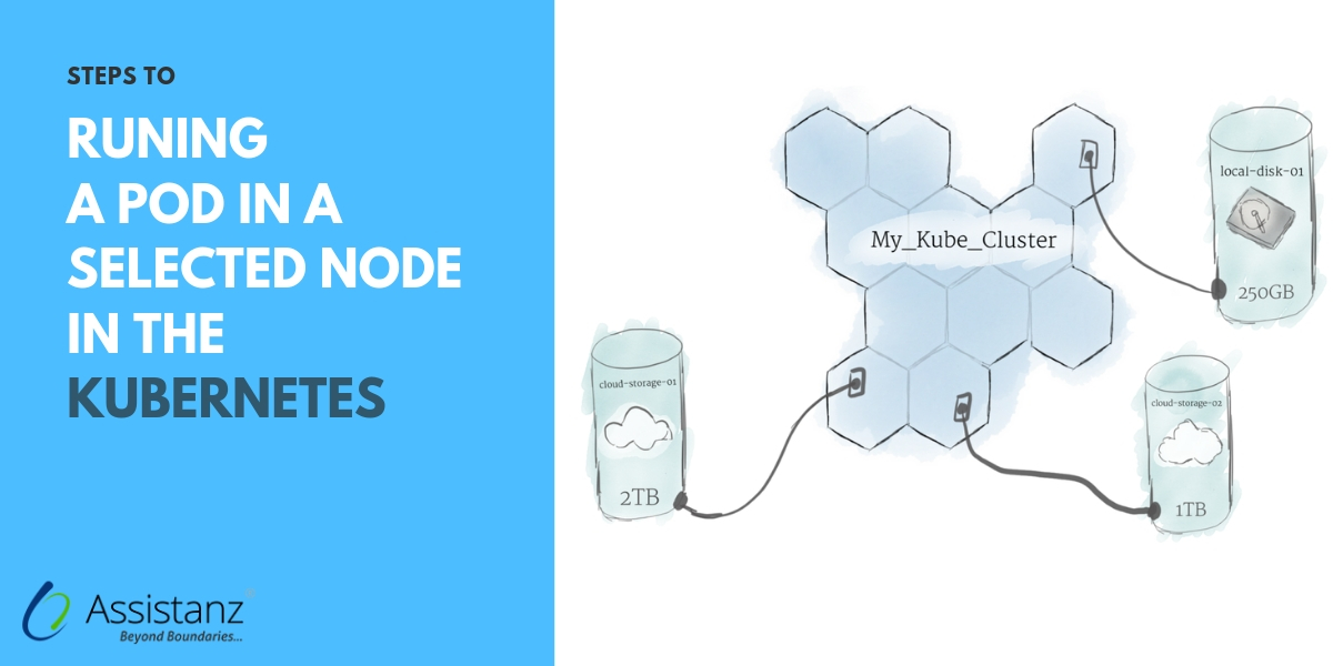 Steps to run a POD in a Selected Node in the Kubernetes
