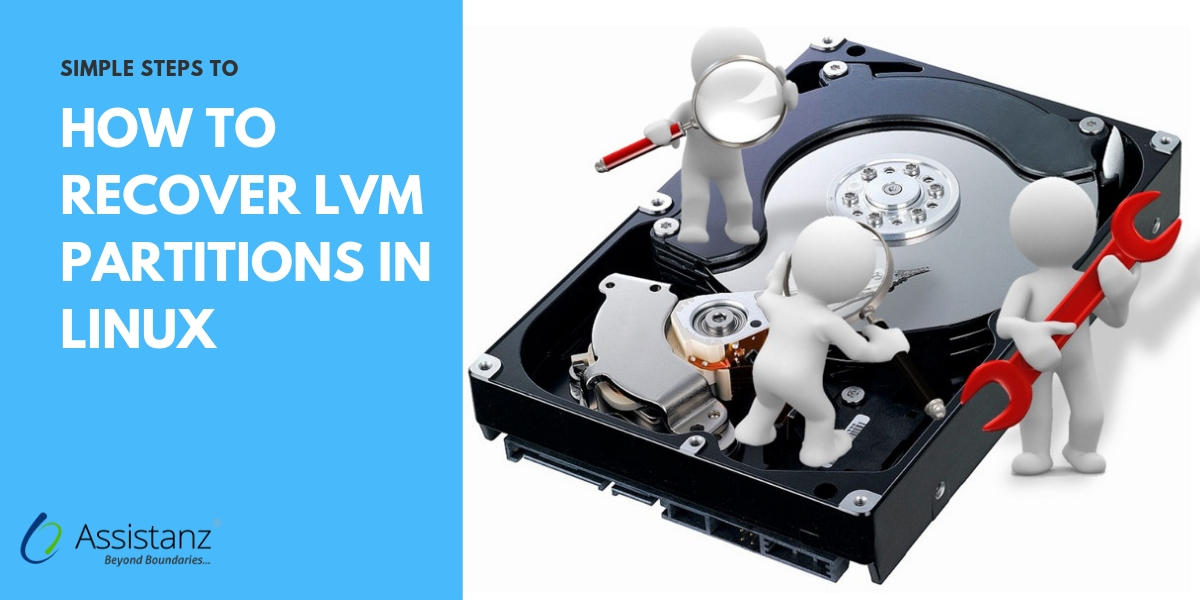 recover LVM partitions in Linux