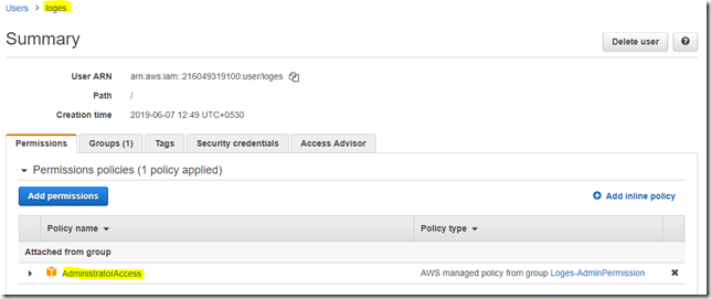 Steps to create and secure temporary session keys in AWS IAM