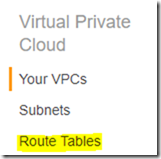 Steps to create VPC Peering connection in AWS