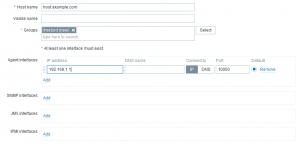 zabbix_adding host