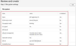 Attach EFS Volume in Linux through private IP