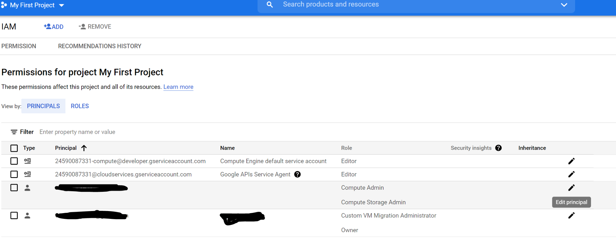 Transferring/Migrating GCP Instance To Another Account