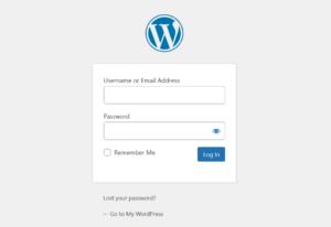 WordPress Login Password from the CLI